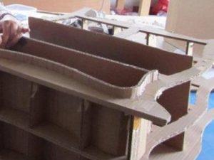 Atelier loisir, création commode en cours de fabrication