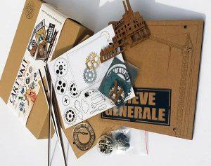 """""""Grève générale"""", kit créatif thème indus"""