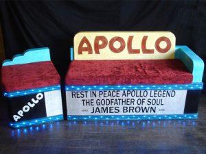 canapé Apollo, création sur mesure en carton