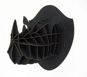 Léon, trophée rhinocéros noir