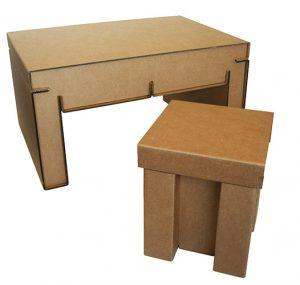 table basse et tabouret O2G