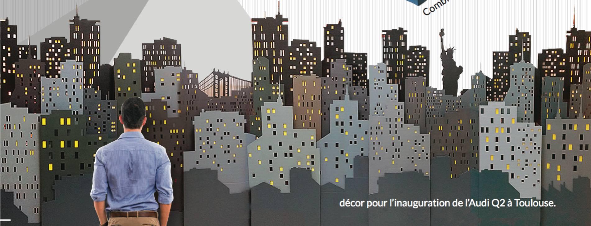 décor skyline New-York