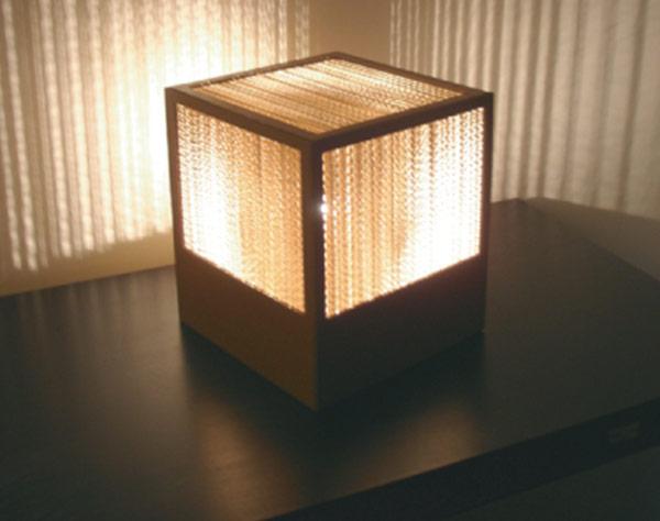Luminaire en carton