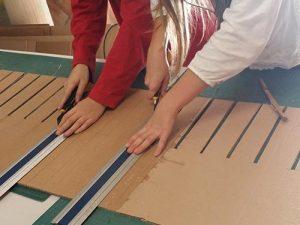 Atelier ado, création d'un banc, MJC de l'Union