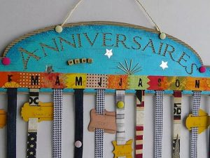 Atelier en famille : calendrier d'anniversaire