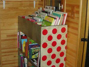 Atelier loisir, création bibliothèque enfant