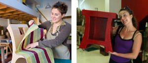 atelier création de mobilier en carton