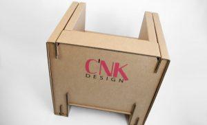 Mobiler et décorations en carton