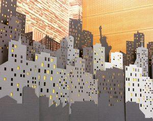 Décors New-York démontable sur 15 mètres