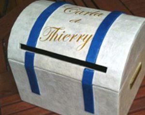 urne de mariage personnalisée