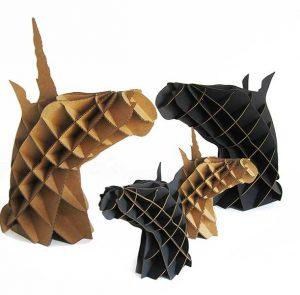 Statuettes chevaux et licornes
