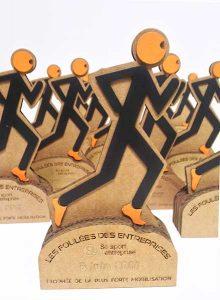 trophée foulée des entreprises