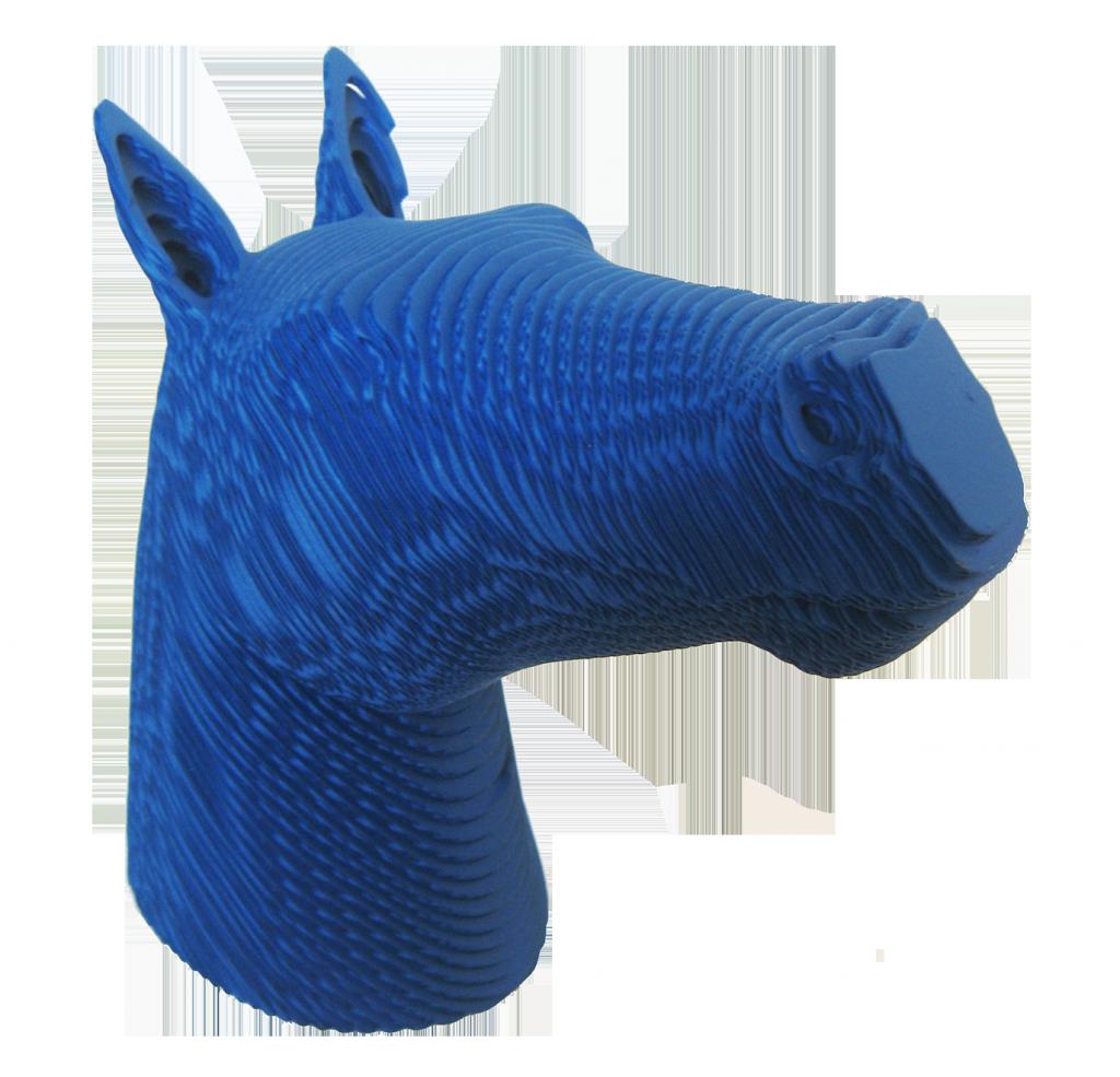 cheval POP bleu