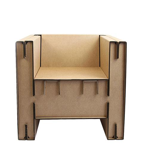 fauteuil en carton fauteuil en carton with fauteuil en carton cimg le fauteuil club en carton. Black Bedroom Furniture Sets. Home Design Ideas