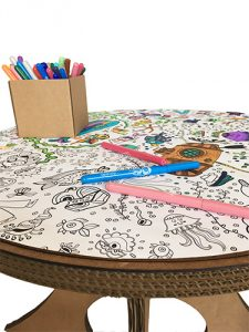 Table de coloriage