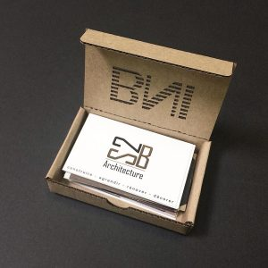 Boîte cartes de visite personnalisée BNI haute-Garonne