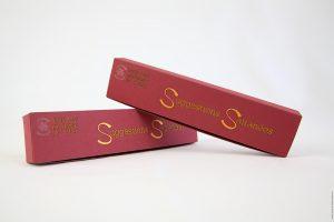 boîte personnalisée pour la Safranette