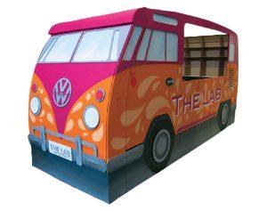 combi van VW taille réelle en carton