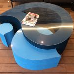 table basse en carton Aloha