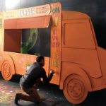 Décors food truck boucher