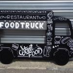 Décors food truck noir