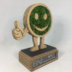Trophée BNI carton et mousse végétale