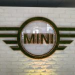 Logo végétal Mini BMW